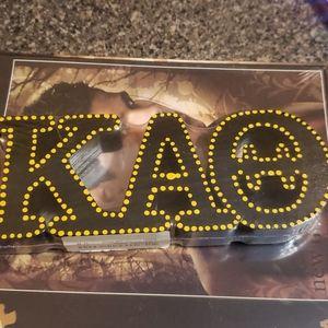 Kappa Alpha Theta Wood Block Letters